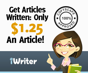 get articles written at iWriter, fast quality custom writing
