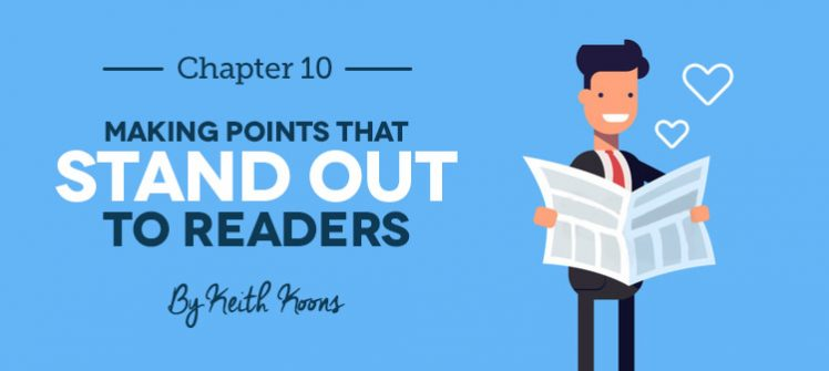Making Points that Stand Out to Readers